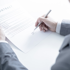 Contracts are voluntary legal agreements — either written or oral — between two or more parties.